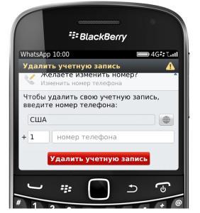 как полностью удалить программу с blackberry