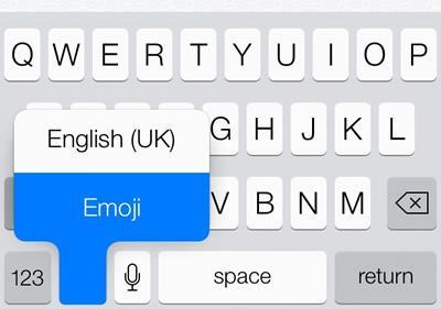 ios7 emoji keyboard gudapp переключение расскладок клавиатуры глобус