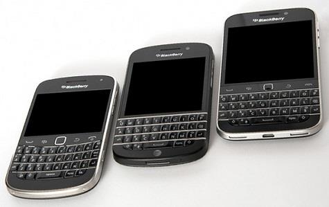 BlackBerry Classic, BlackBerry Q10, BlackBerry Bold 9900
