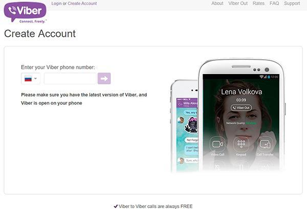 Viber - как можно пополнить счет для Viber Out