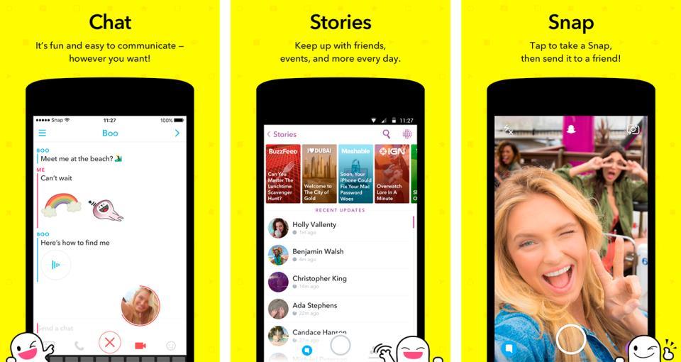 Скачать приложение Snapchat