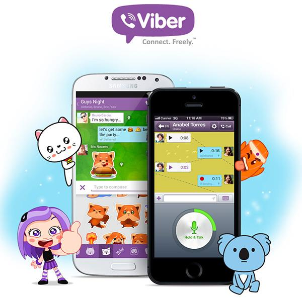Viber Android версия