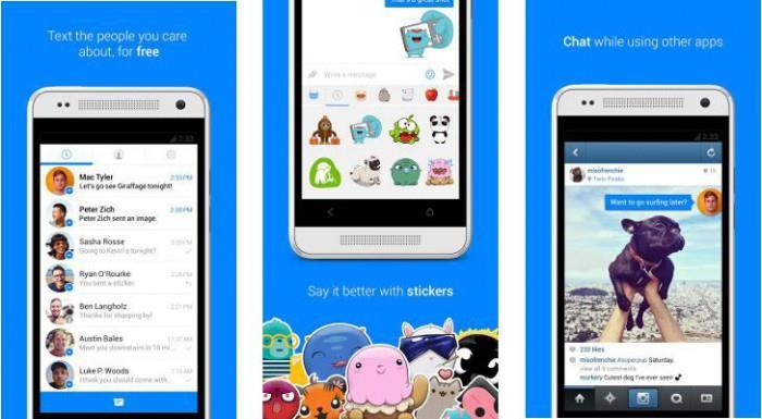Messenger Facebook скачать на компьютер возможности