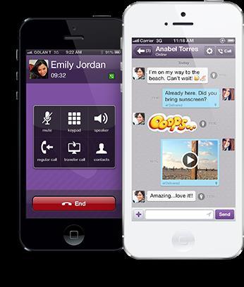 Viber для айфона скачать бесплатно