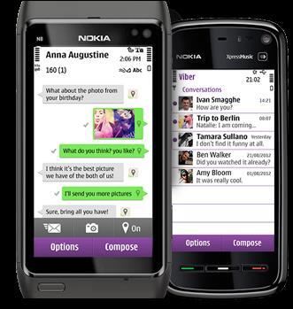 Скачать Viber для Nokia