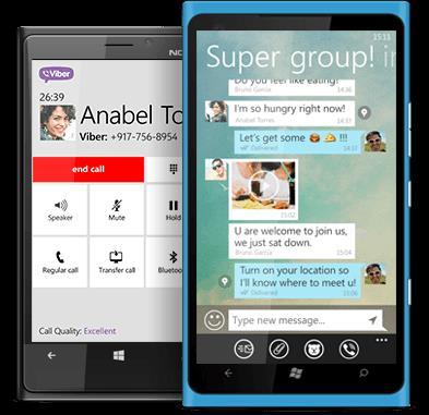 Скачать Viber для Windows Phones