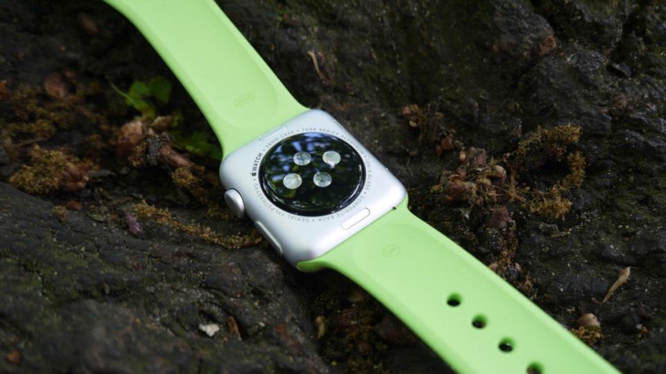 Apple Watch - Вид сзади