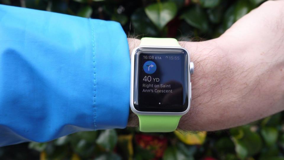 Приложения умных часов Apple Watch