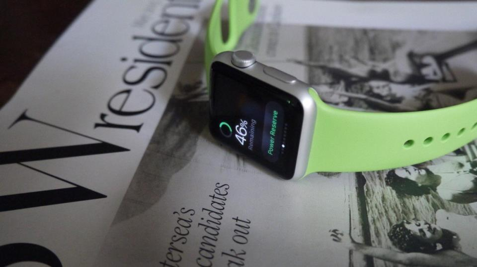 Заряд батареи на Apple Watch