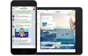 Telegram на iPhone/iPad