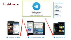 Телеграм онлайн
