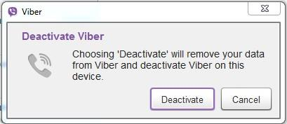 step 6 to change Viber number on PC
