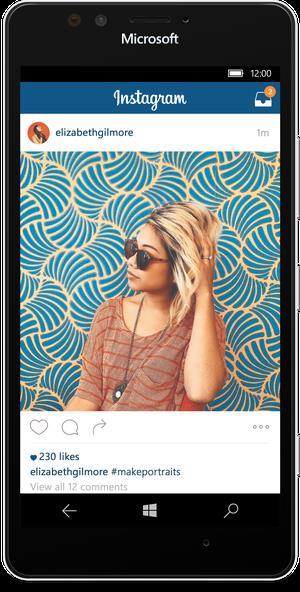 На Windows 10 стали доступны приложения Facebook, Messenger и Instagram