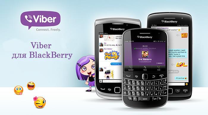 Blackberry-viber