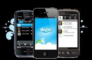 Skype длямобильных телефонов