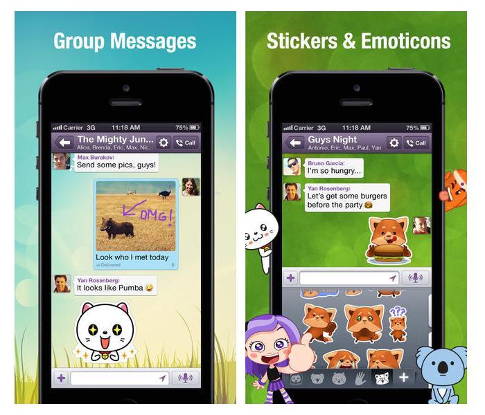 В мобильном приложении Viber теперь можно звонить на городские и мобильные номера