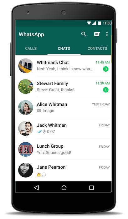 разработчики whatsapp внесли изменения