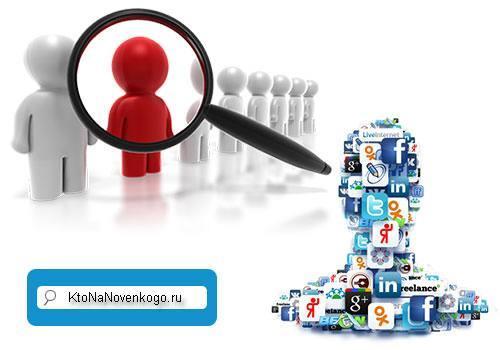 Поиск людей Вконтакте, интернете и других местах