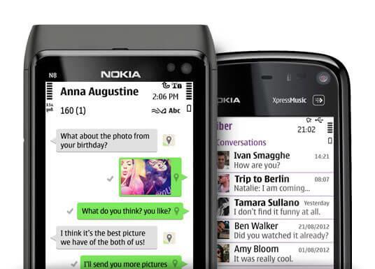 Viber для Nokia