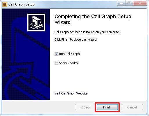 Установка Call Graph завершена