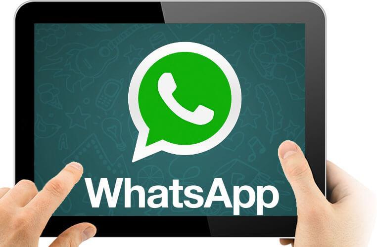 WhatsApp для планшета