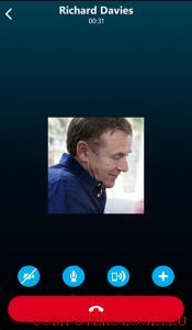 Звонок в Skype