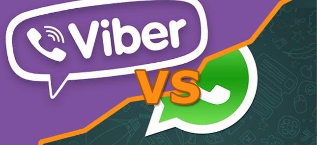 Что же лучше: Viber или WhatsApp