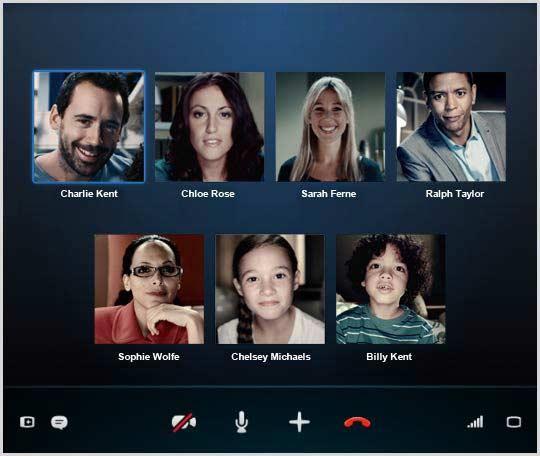 Телефонные конференции Skype