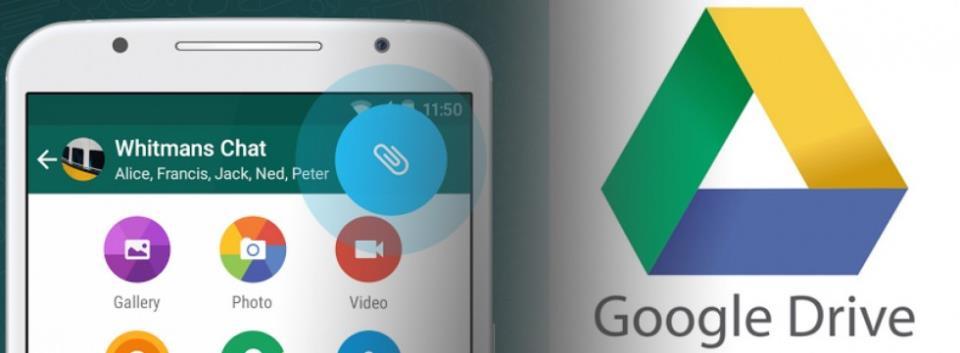 whatsapp+Google Drive