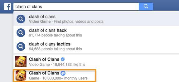 аудитория мобильного приложения Clash of Clans