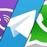 ссылки на Viber, Whatsapp, Telegram, Skype