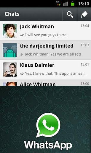 Программа для Android WhatsApp