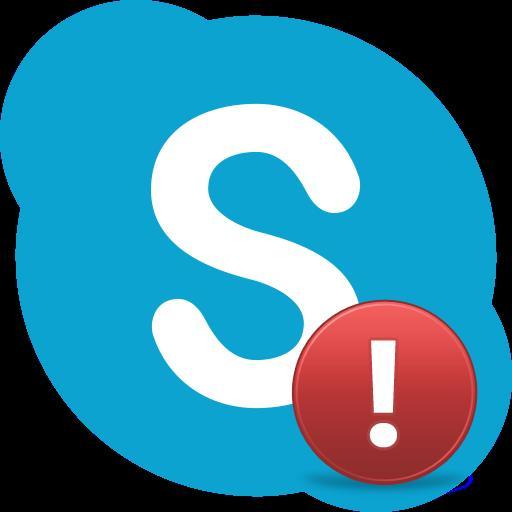Сбой в Skype