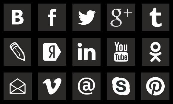 png иконка социальных сетей