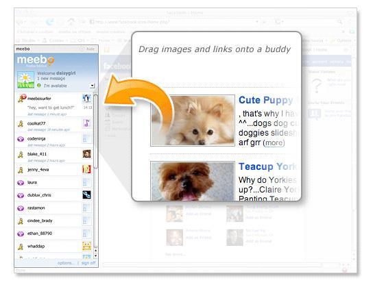 Meebo для Firefox