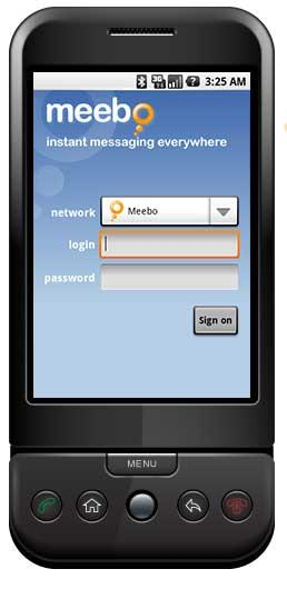 Meebo для Android