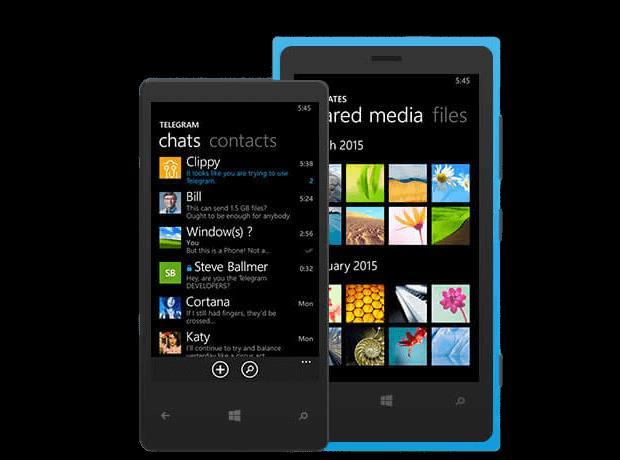 Скачать Telegram для Windows Phone