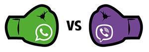 Отличия Viber от WhatsApp