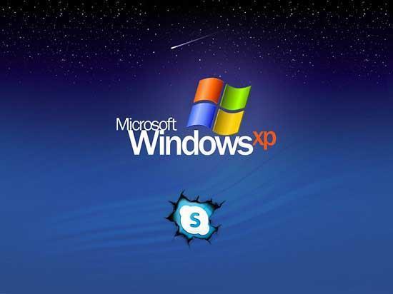 Skype в windows xp