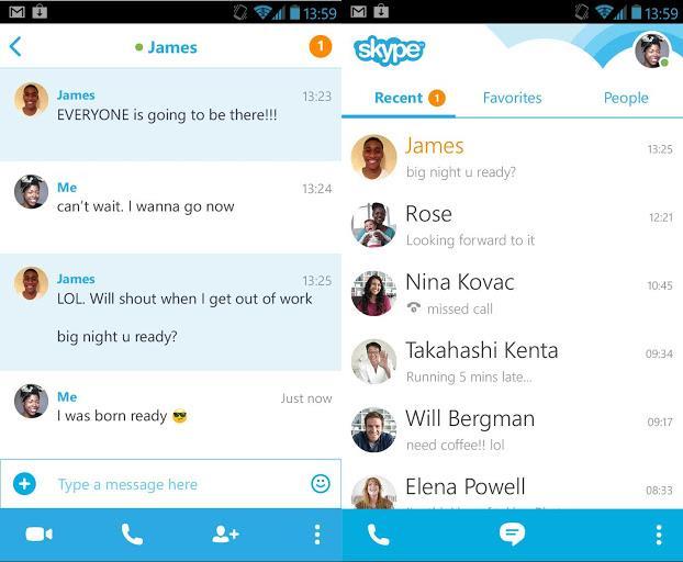 Обновленный Skype для Android: рюшечки - да, нововведения - нет-2