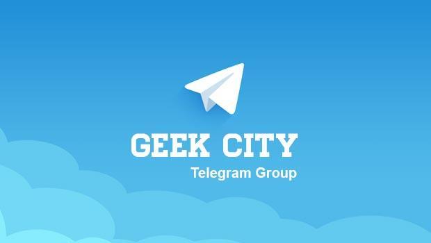 Группа geekCity в Telegram
