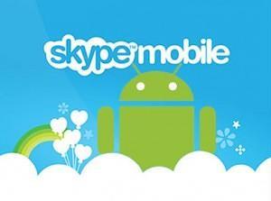 Популярная программа-мессенджер skype есть и для Android-платформы