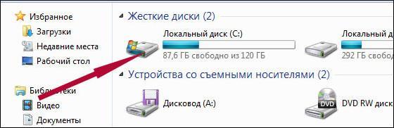 диск С
