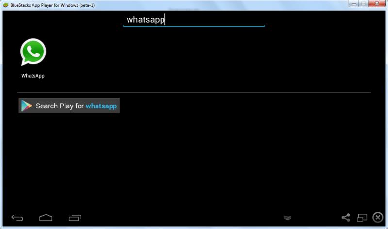 search-whatsapp-in-BlueStacks