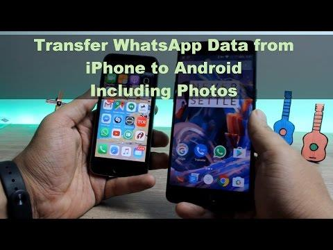 How to Transfer WhatsApp Chat Data and Photos from iPhone to Android