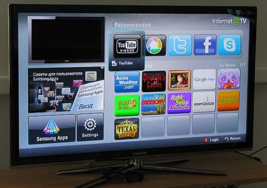 Skype для телевизора Samsung