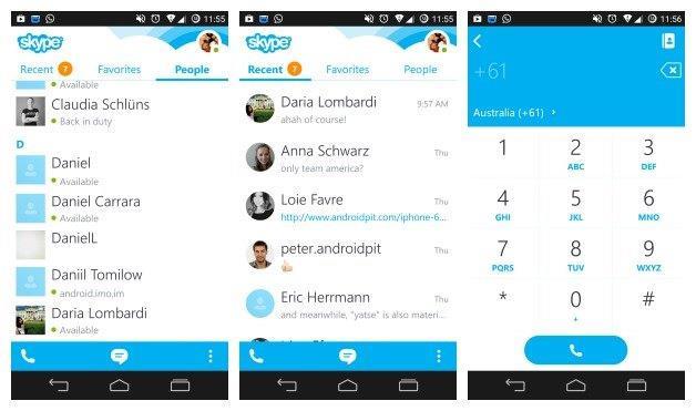 Скайп для Android. Проблемы и решения