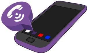 Оповещение в Viber на телефоне