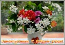 Одноклассники С Добрым утром
