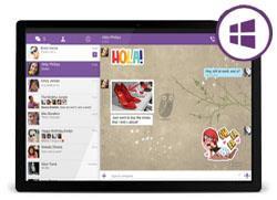 Viber для Windows 8 Tablet скачать бесплатно, Вайбер, Вибер